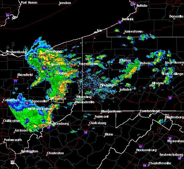 Radar Image for Severe Thunderstorms near Summitville, OH at 6/30/2015 4:34 PM EDT