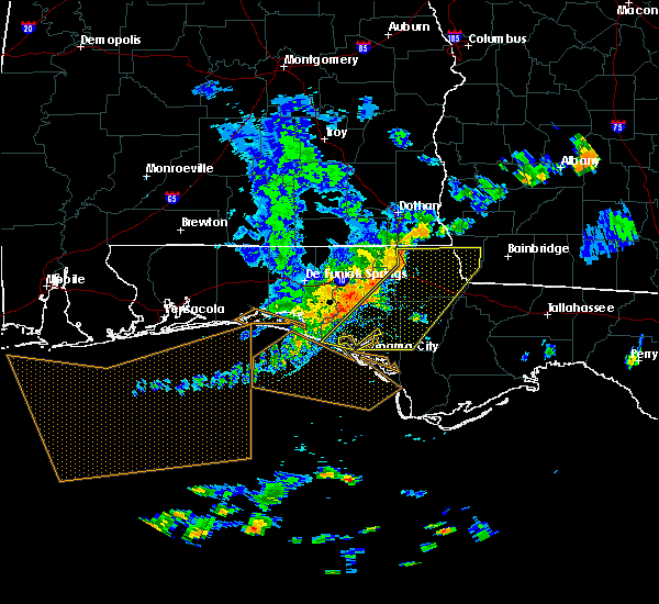 Radar Image for Severe Thunderstorms near Jacob City, FL at 6/30/2015 3:37 PM CDT