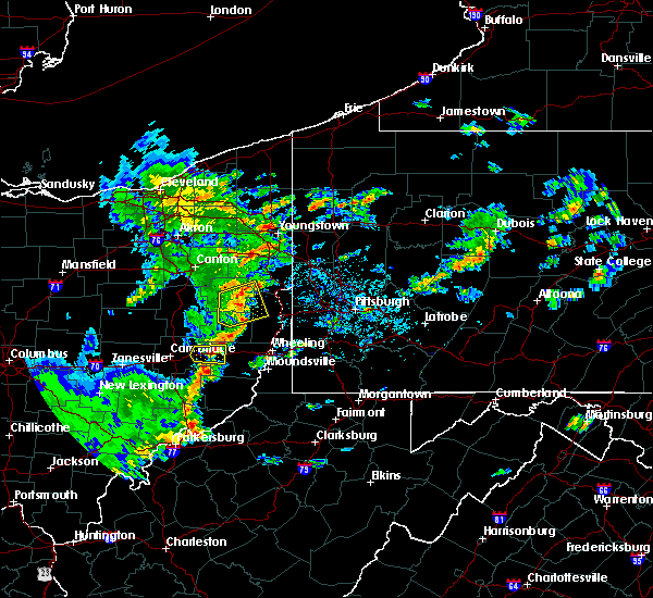 Radar Image for Severe Thunderstorms near Summitville, OH at 6/30/2015 4:48 PM EDT