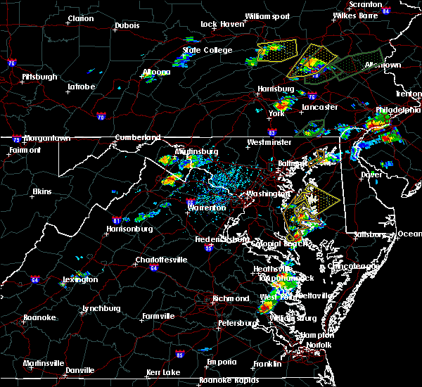 Radar Image for Severe Thunderstorms near Brickerville, PA at 6/30/2015 4:47 PM EDT