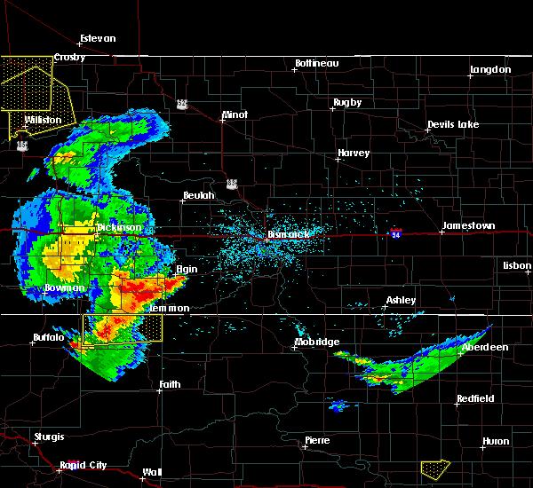 Radar Image for Severe Thunderstorms near Lemmon, SD at 7/4/2020 11:46 PM MDT