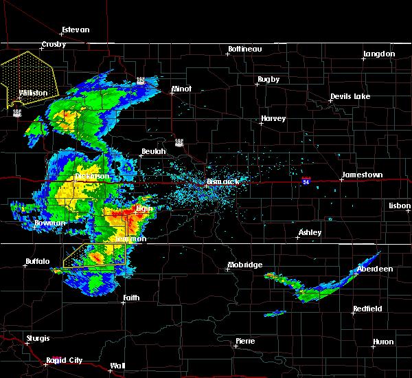 Radar Image for Severe Thunderstorms near Lemmon, SD at 7/5/2020 12:12 AM MDT