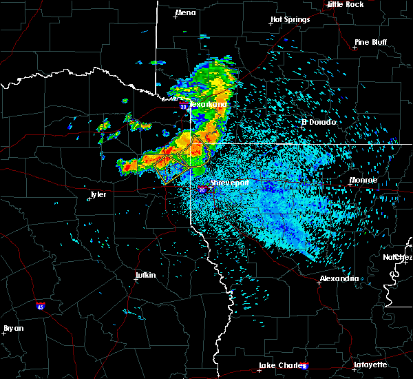 Radar Image for Severe Thunderstorms near Vivian, LA at 7/5/2020 3:04 AM CDT