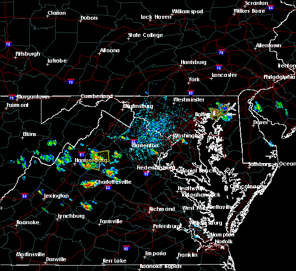 Radar Image for Severe Thunderstorms near Crozet, VA at 7/5/2020 3:10 PM EDT
