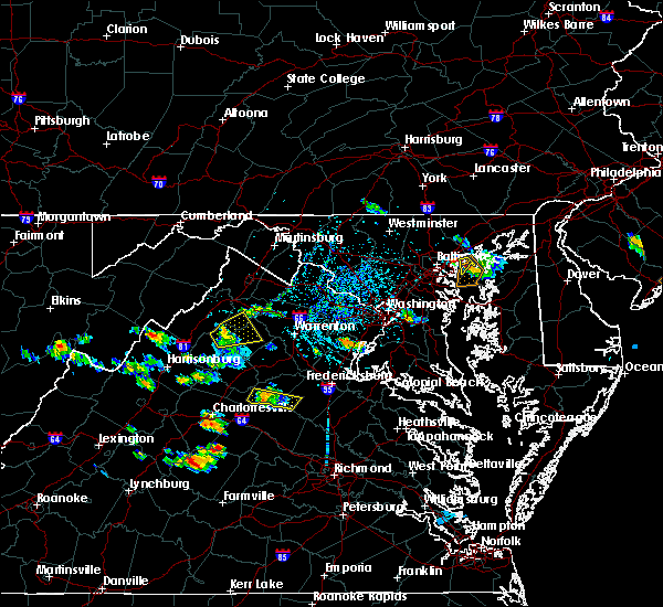 Radar Image for Severe Thunderstorms near Essex, MD at 7/5/2020 3:54 PM EDT