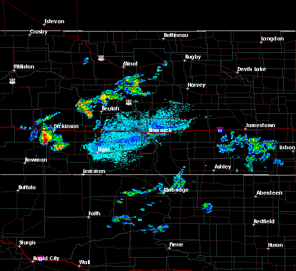 Radar Image for Severe Thunderstorms near New England, ND at 7/5/2020 2:27 PM MDT