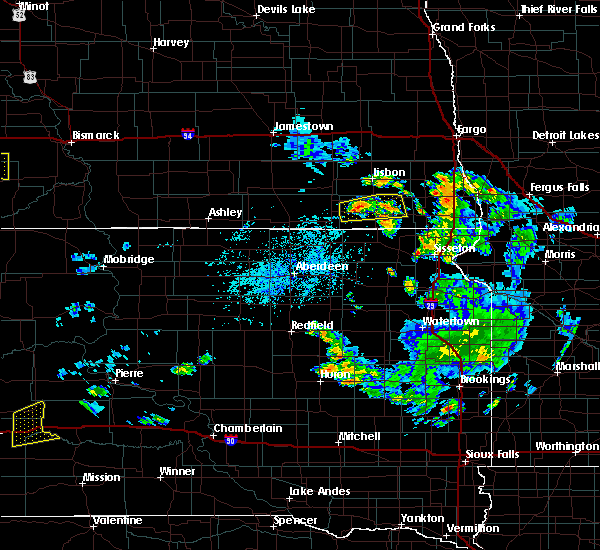 Radar Image for Severe Thunderstorms near Forman, ND at 7/5/2020 4:30 PM CDT