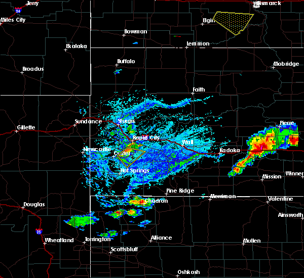 Radar Image for Severe Thunderstorms near Fairburn, SD at 7/5/2020 4:21 PM MDT