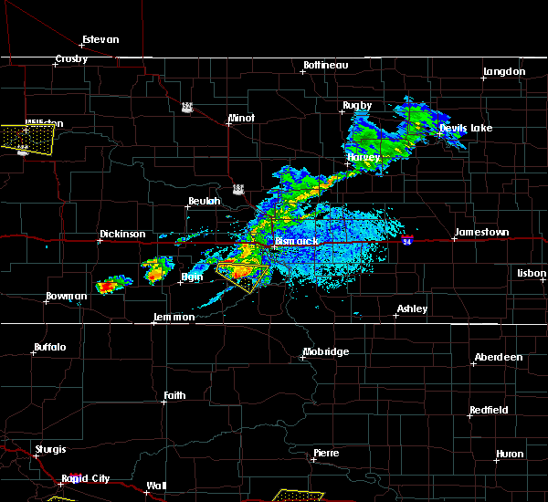 Radar Image for Severe Thunderstorms near Solen, ND at 7/5/2020 5:44 PM CDT