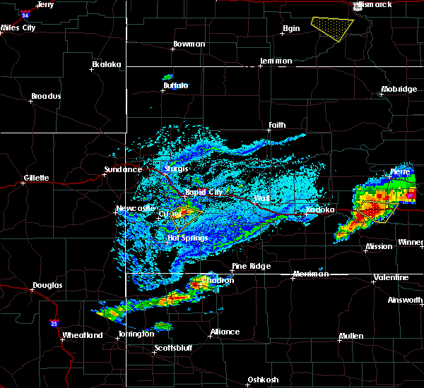 Radar Image for Severe Thunderstorms near Fairburn, SD at 7/5/2020 4:46 PM MDT