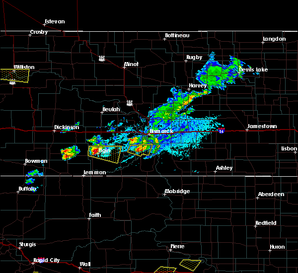 Radar Image for Severe Thunderstorms near New Leipzig, ND at 7/5/2020 4:56 PM MDT