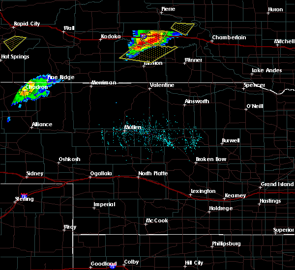 Radar Image for Severe Thunderstorms near Vivian, SD at 7/5/2020 5:56 PM CDT