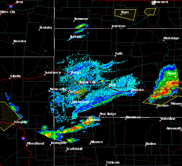Radar Image for Severe Thunderstorms near Fairburn, SD at 7/5/2020 5:02 PM MDT