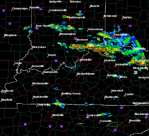 Radar Image for Severe Thunderstorms near Worthville, KY at 6/30/2015 5:21 PM EDT