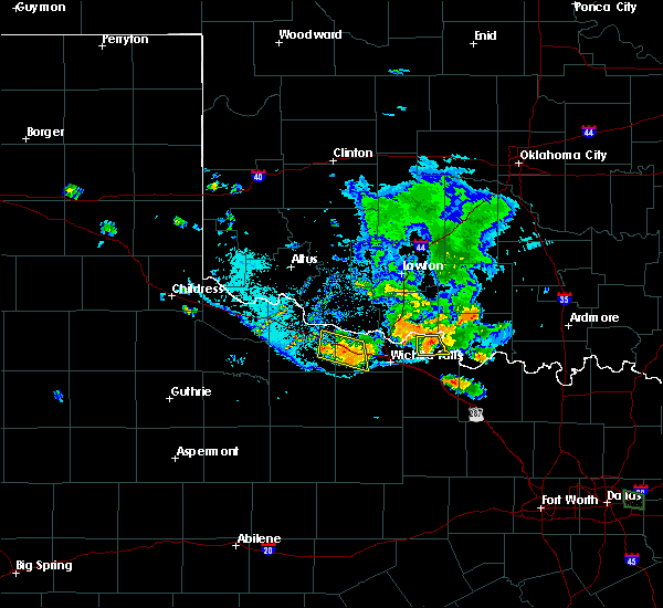 Radar Image for Severe Thunderstorms near Byers, TX at 7/5/2020 8:13 PM CDT