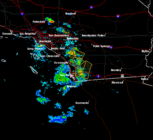 Radar Image for Severe Thunderstorms near French Valley, CA at 6/30/2015 2:31 PM PDT