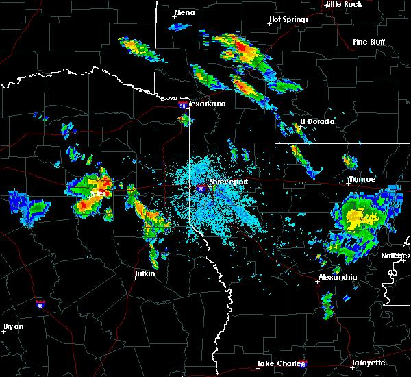 Radar Image for Severe Thunderstorms near Kilgore, TX at 7/5/2020 8:41 PM CDT