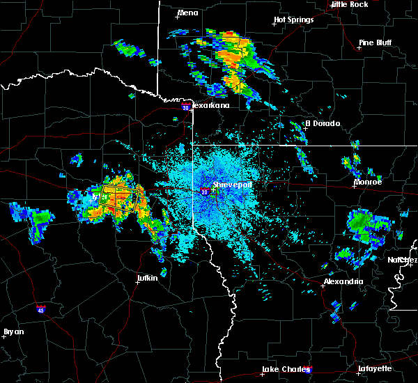 Radar Image for Severe Thunderstorms near Clarksville City, TX at 7/5/2020 9:09 PM CDT