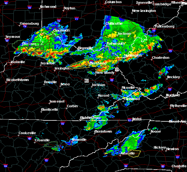 Radar Image for Severe Thunderstorms near Sandy Hook, KY at 6/30/2015 5:45 PM EDT