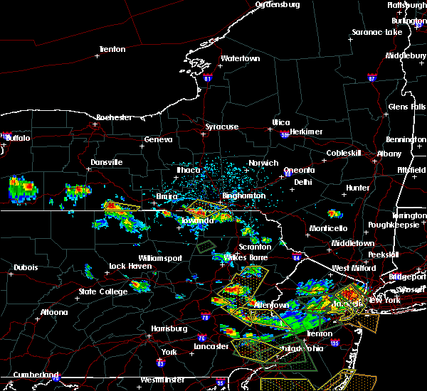 Radar Image for Severe Thunderstorms near Bowmanstown, PA at 7/6/2020 4:20 PM EDT