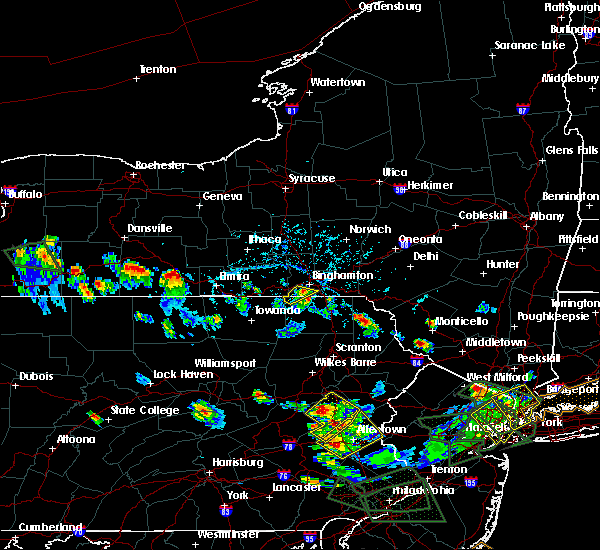 Radar Image for Severe Thunderstorms near White Haven, PA at 7/6/2020 5:03 PM EDT