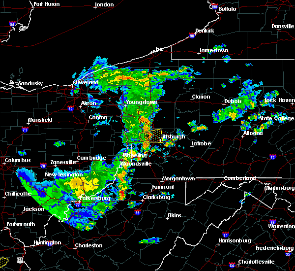 Radar Image for Severe Thunderstorms near Bradford Woods, PA at 6/30/2015 5:59 PM EDT