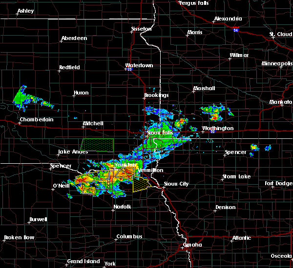 Radar Image for Severe Thunderstorms near Verdigre, NE at 7/6/2020 5:45 PM CDT