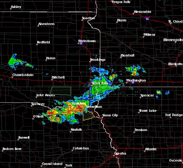 Radar Image for Severe Thunderstorms near Magnet, NE at 7/6/2020 5:48 PM CDT