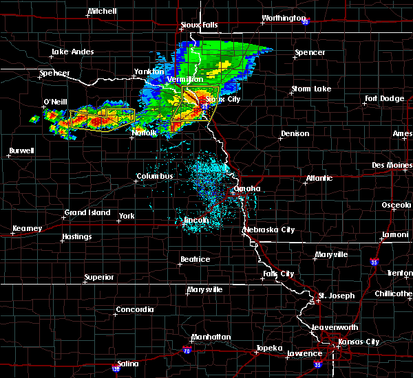 Radar Image for Severe Thunderstorms near Royal, NE at 7/6/2020 7:06 PM CDT