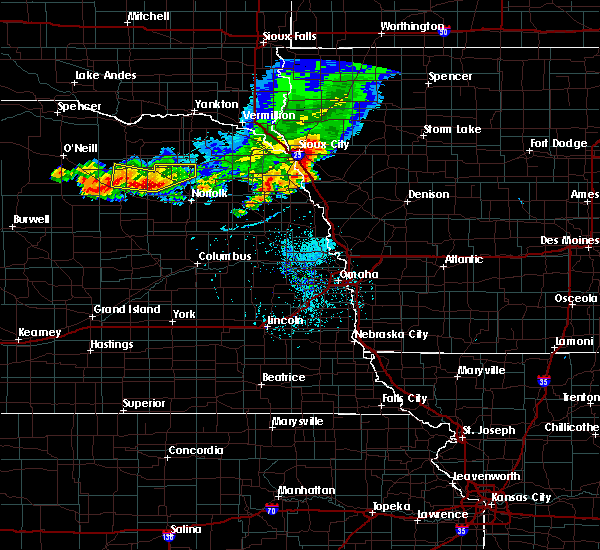 Radar Image for Severe Thunderstorms near Pierce, NE at 7/6/2020 7:23 PM CDT