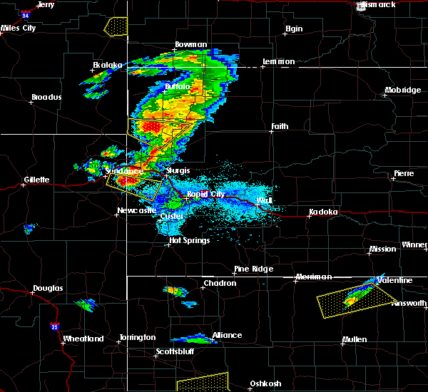 Radar Image for Severe Thunderstorms near Lead, SD at 7/6/2020 6:47 PM MDT