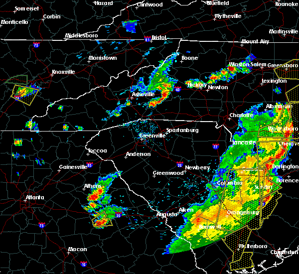 Radar Image for Severe Thunderstorms near Marion, NC at 6/30/2015 6:14 PM EDT