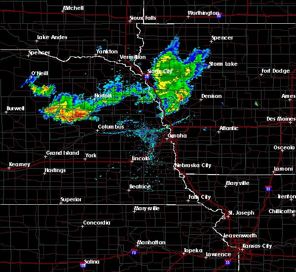 Radar Image for Severe Thunderstorms near Newman Grove, NE at 7/6/2020 8:47 PM CDT