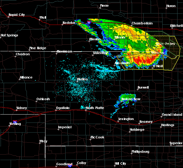 Radar Image for Severe Thunderstorms near Atkinson, NE at 7/7/2020 2:02 AM CDT
