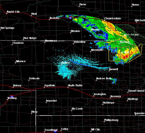 Radar Image for Severe Thunderstorms near Ewing, NE at 7/7/2020 2:44 AM CDT
