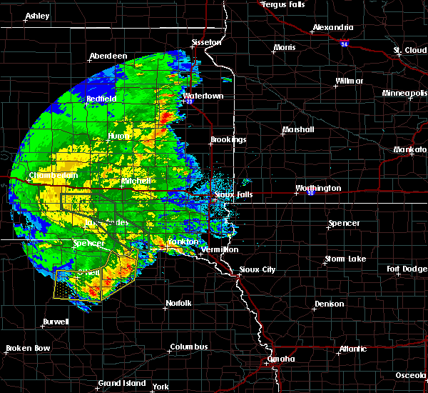 Radar Image for Severe Thunderstorms near Lindy, NE at 7/7/2020 2:53 AM CDT