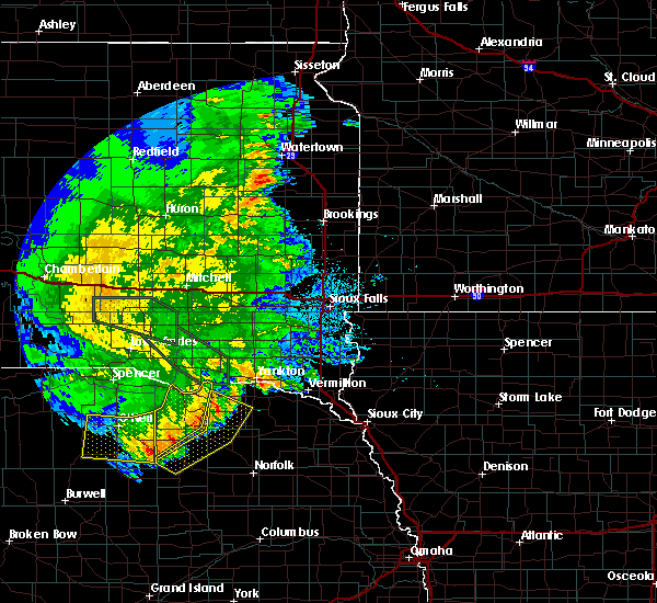 Radar Image for Severe Thunderstorms near Verdigre, NE at 7/7/2020 3:01 AM CDT