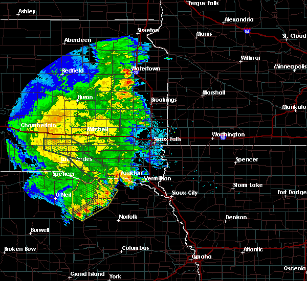 Radar Image for Severe Thunderstorms near Lindy, NE at 7/7/2020 3:14 AM CDT