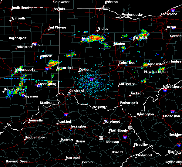 Radar Image for Severe Thunderstorms near Richmond, IN at 7/7/2020 1:04 PM EDT