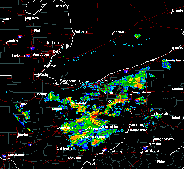 Radar Image for Severe Thunderstorms near Walnut Creek, OH at 7/7/2020 3:37 PM EDT