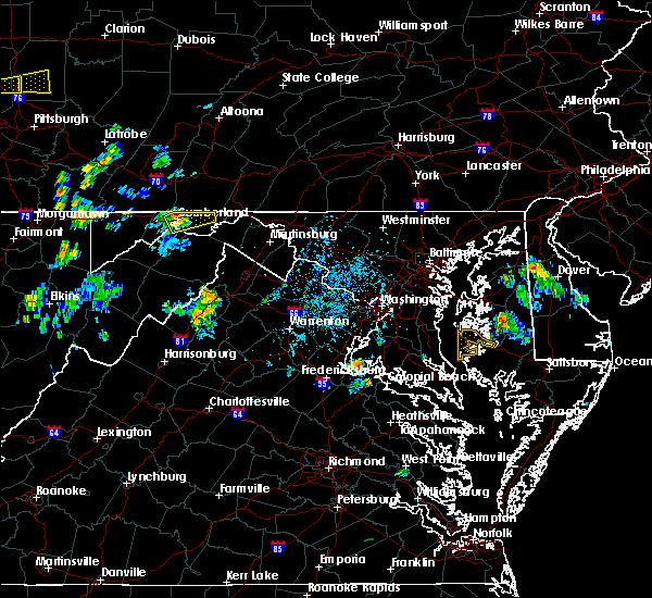 Radar Image for Severe Thunderstorms near Ellerslie, MD at 7/7/2020 5:04 PM EDT