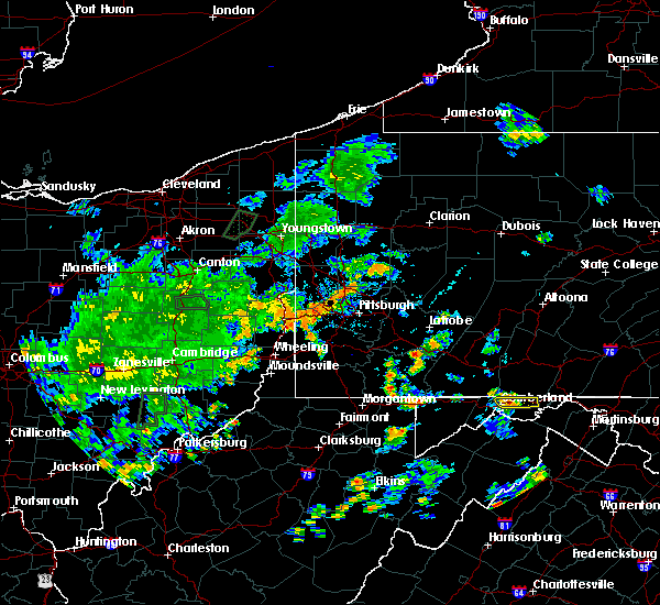 Radar Image for Severe Thunderstorms near Midway, PA at 7/7/2020 5:19 PM EDT