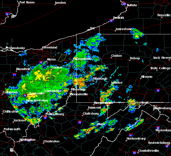 Radar Image for Severe Thunderstorms near Midway, PA at 7/7/2020 5:34 PM EDT
