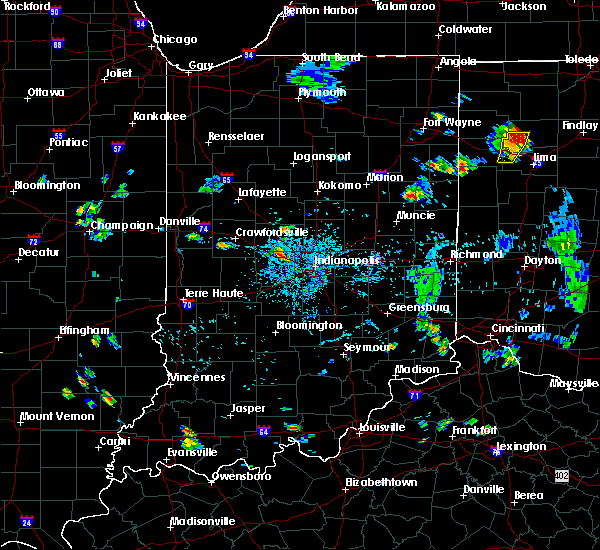 Radar Image for Severe Thunderstorms near Avon, IN at 7/7/2020 5:42 PM EDT