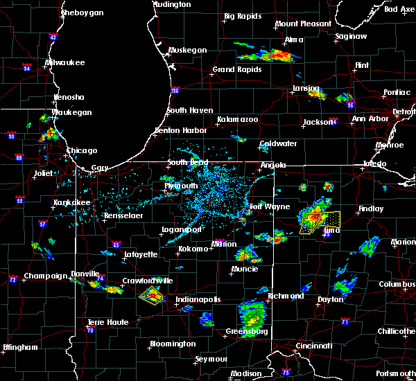 Radar Image for Severe Thunderstorms near Delphos, OH at 7/7/2020 5:56 PM EDT
