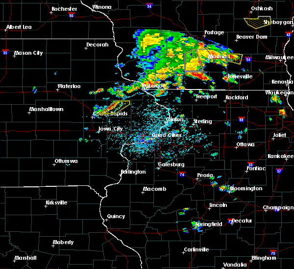 Radar Image for Severe Thunderstorms near Springville, IA at 7/7/2020 5:34 PM CDT