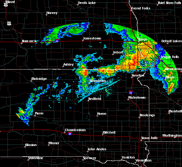 Radar Image for Severe Thunderstorms near Battle Lake, MN at 7/8/2020 4:01 AM CDT
