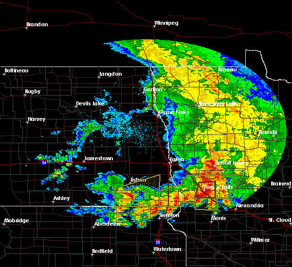 Radar Image for Severe Thunderstorms near Battle Lake, MN at 7/8/2020 4:46 AM CDT