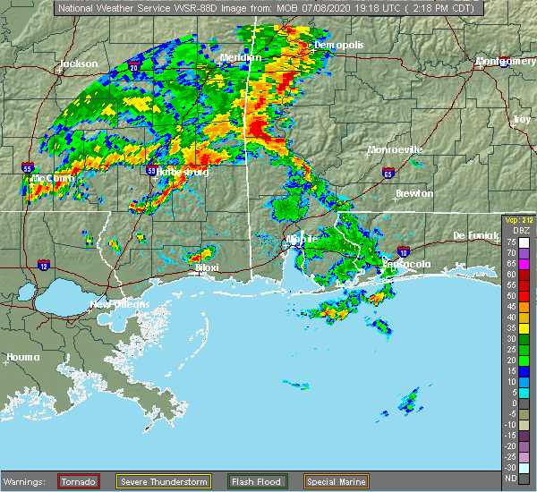 Interactive Hail Maps Hail Map For Biloxi Ms
