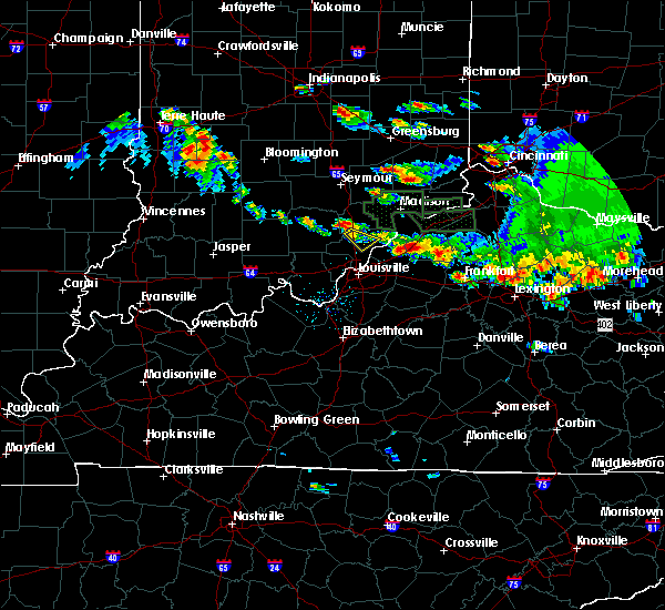 Radar Image for Severe Thunderstorms near Henryville, IN at 6/30/2015 7:01 PM EDT